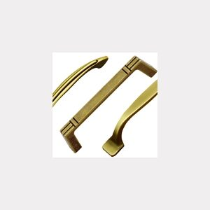BRASS AND AGED HANDLES AND HARDWARE