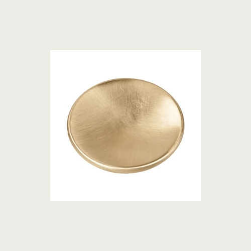 KNOB 60MM SATIN BRASS