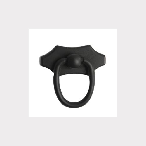 BLACK OXIDE RING FURNITURE HANDLE