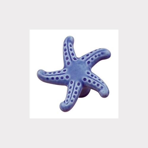 BLUE PORCELAIN. STARFISH