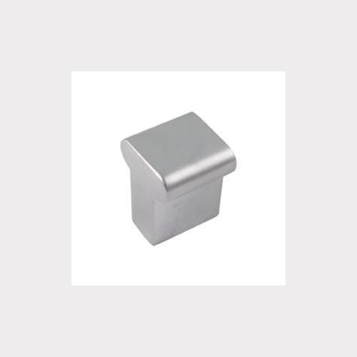 MÖBELKNOPF 15x15MM MATT CHROM