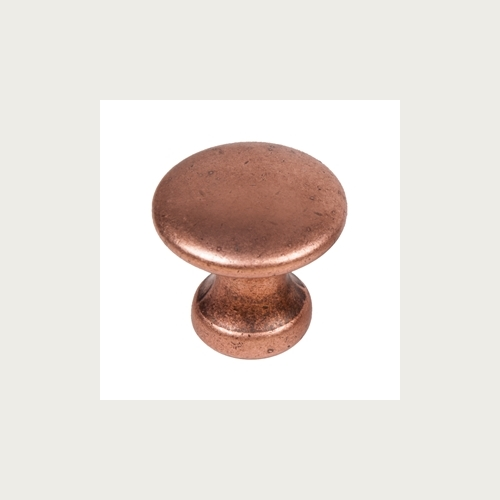 KNOB 25MM ANTIQUE COPPER