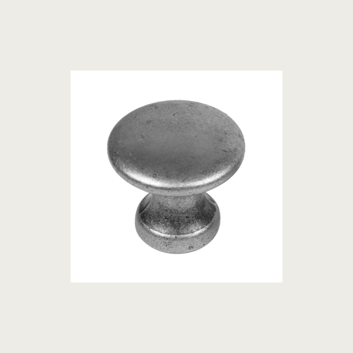KNOB 25MM OLD SILVER