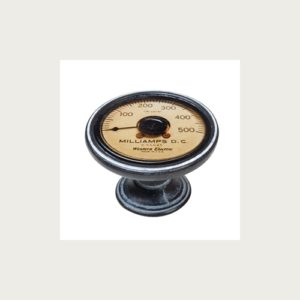KNOB 37MM WASHED RUST AMMETER