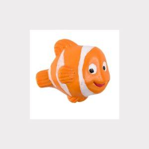 FISH FURNITURE KNOB. HANDPAINTED RESIN