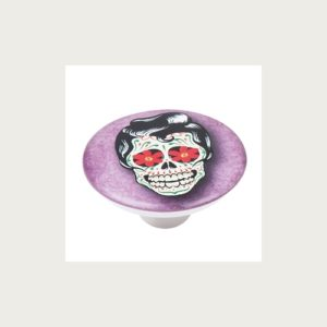 KNOB 50MM ABS WITH DESIGN SKULL 2