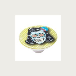 KNOB 50MM ABS WITH DESIGN SKULL 3