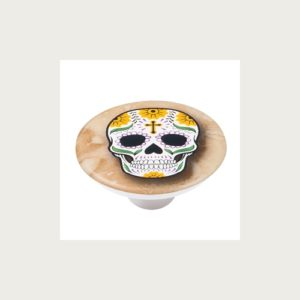 KNOB 50MM ABS WITH DESIGN SKULL 5