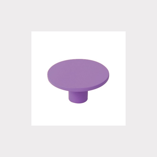 FURNITURE KNOB ABS 40 MM COLOUR VIOLET YOUTH DESIGN