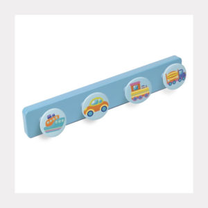 HANGER ABS BABY BLUE COLOUR  KNOBS TRANSPORT