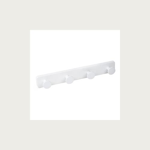 HANGER 4 ABS KNOBS WHITE - WHITE ABS BASE