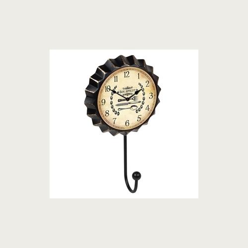 HANGER CAP CLOCK BON APPETIT
