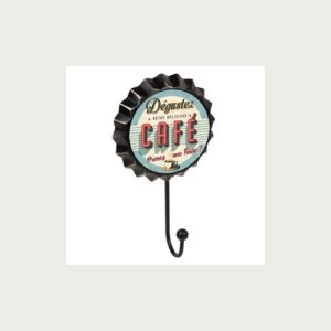 PERCHA PARED CHAPA CAFÉ