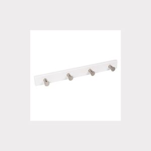 LACQUERED  HANGER WHITE  KNOBS MAT CHROME